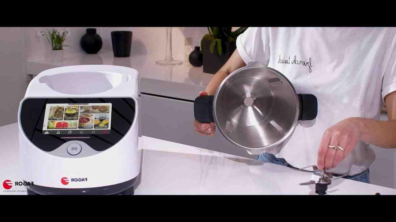 Comment cuire à la vapeur avec le robot Fagor ?