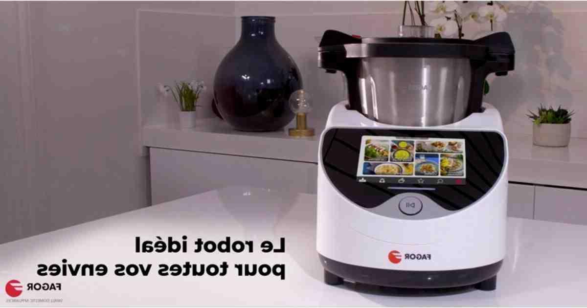 Comment mixer avec robot Fagor ?