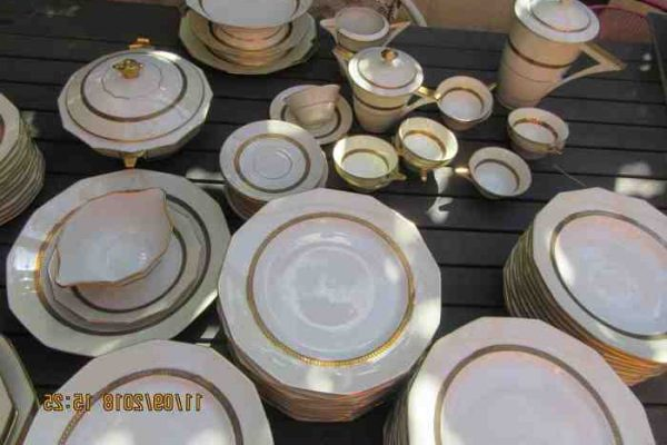 Service de table porcelaine de limoges